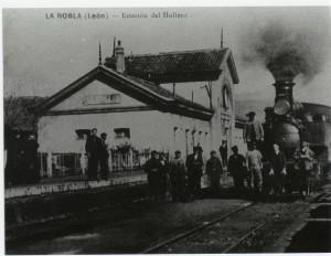 Estación de Hullero, La Robla